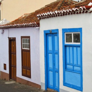 Authentieke straat Los Llanos de Aridane, La Palma