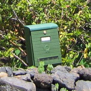 Mailbox Casa Pedregales, La Palma