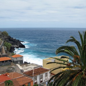 Oceaan kust La Palma