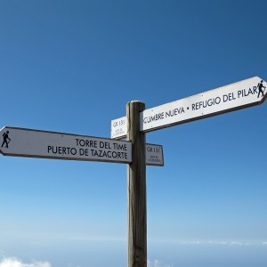 Walking near Torre de Time, La Palma